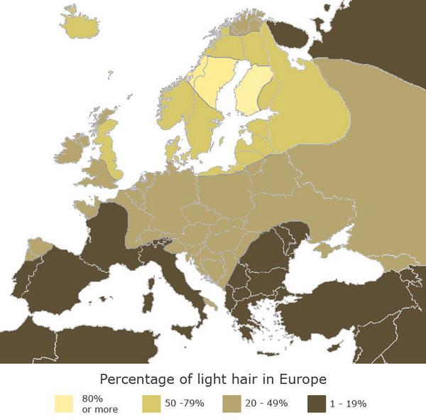 Fair Hair in Europe