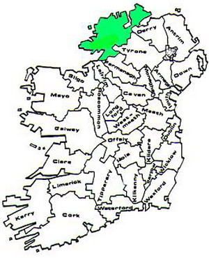Donegal Map