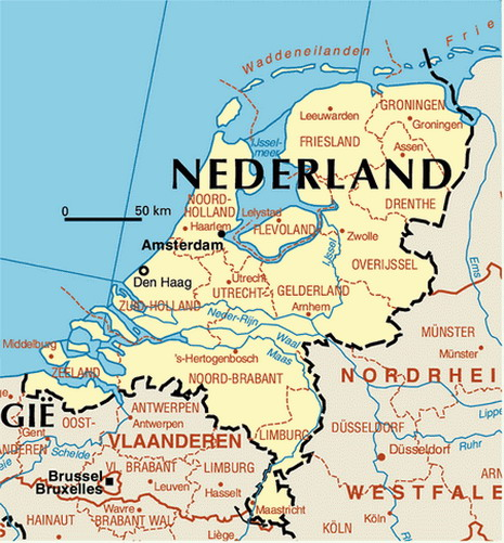 Traditions Of Israelite Descent In The Netherlands - Where is the netherlands located
