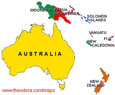 Polemics Aussie Blues And The Land Of SinimAustralia Equation - Where is new zealand located