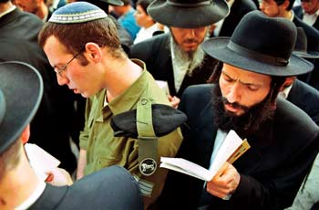 Jews Praying
