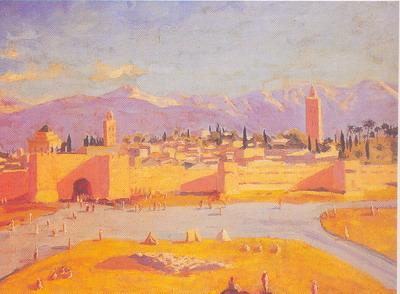 Marrakech, 1943