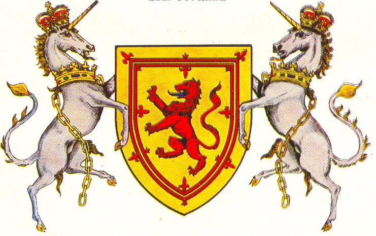 Герб шотландии картинки